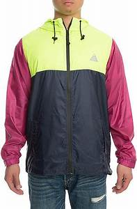 ALL GOOD The Methuselah Jacket in Neon Green Fuchsia and