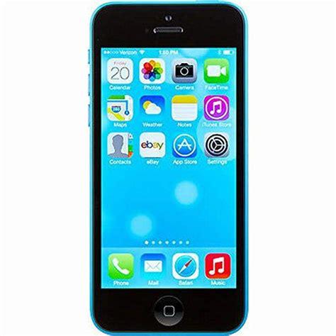 iphone 5 refurbished att apple iphone 5c 8 gb att locked blue certified