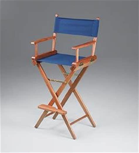 amazon com whitecap teak captain s chair with blue seat