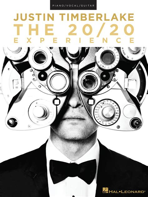 Justin Timberlake – The 20/20 Experience | Hal Leonard Online