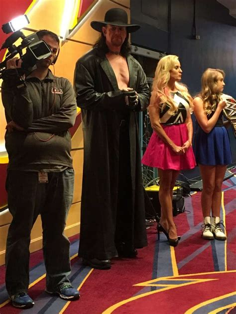 wwe news  undertaker appears   cleveland