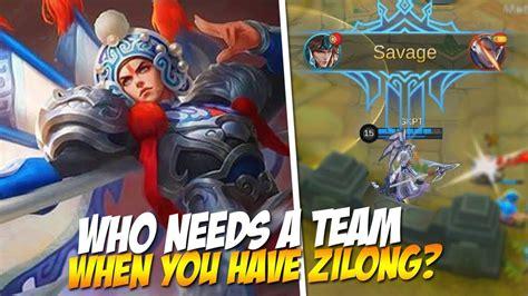 Top 5 Best Zilong Plays! Savages Mobile Legends