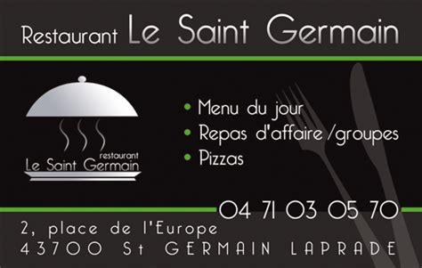 Carte De Visite Restaurant Design by Cartes De Visite Avec Vernis S 233 Lectif Nk Design