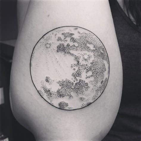 amazing moon tattoo designs