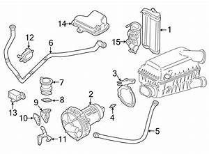 Volkswagen Jetta Wagon Connector Pipe  Feed Line  Intake