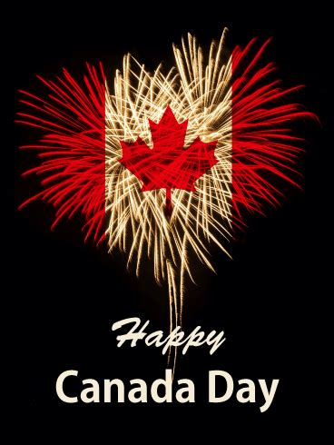Celebration Canada Day Card Birthday Greeting Cards
