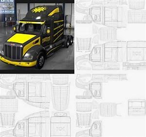 peterbilt 579 templates for ats euro truck simulator 2 mods With ats templates
