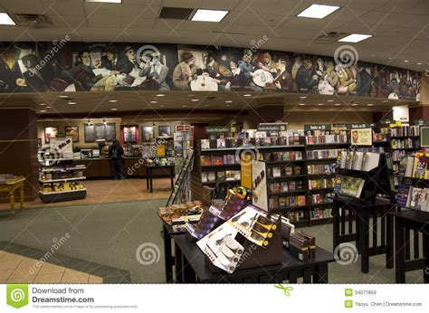 barnes and noble seattle bookstore editorial stock image image 34071859