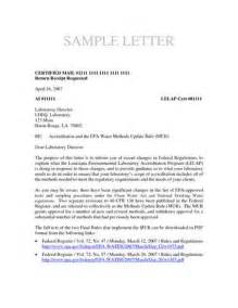 mailing letters format