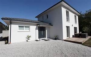 maison contemporaine a etage grise et blanche maisons With maison grise et blanche 16 page introuvable