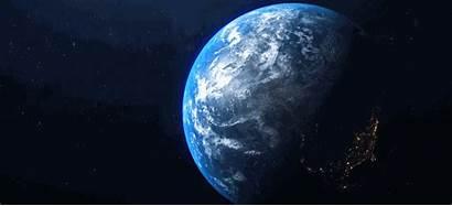 Earth Rotation Rotating Computer Shape