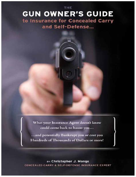 defense insurance expert releases guide  gun