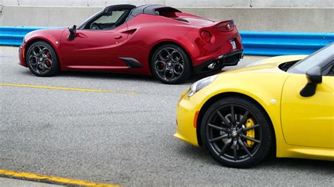 Romeo 4c Pricing by Summer Alfa Romeo Announces Pricing For 2015 4c Spider