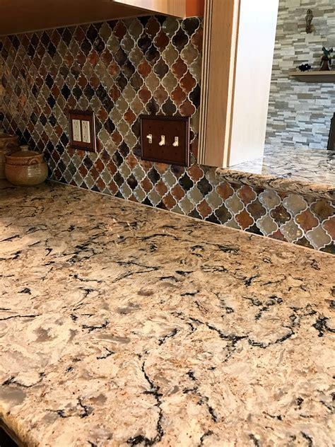 Copper Kitchen Backsplash Ideas - cambria bradshaw quartz countertops stone center