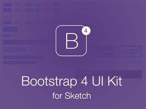 bootstrap 4 ui kit for sketch sketch freebie download free resource for sketch sketch app