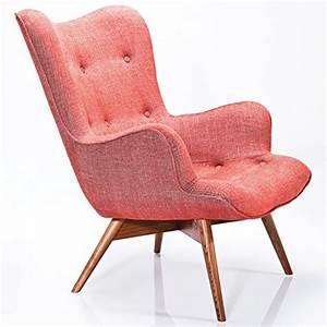 Kare Design Sessel : kare design sessel textil rot mit armlehnen retro angels wings rhythm karmin online kaufen bei ~ Eleganceandgraceweddings.com Haus und Dekorationen