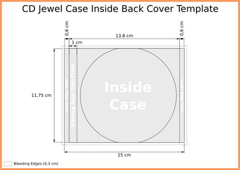 Cd Cover Template Powerpoint by Cd Template Maximum Printing Area Cd Label Design