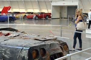 Corvette Museum Sinkhole Cars Lost by National Corvette Museum S Prized Vehicles Were Consumed