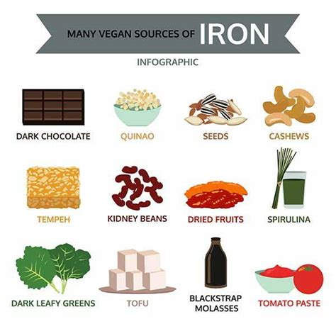 i 10 alimenti più ricchi di ferro tabella alimenti ricchi di ferro ma53 187 regardsdefemmes