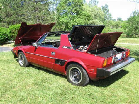 Fiat Bertone X19 For Sale by Fiat Other 2 Door Sport 1980 Bertone For Sale