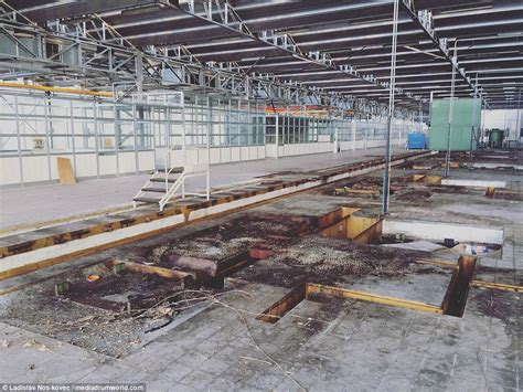bugatti factory inside the abandoned bugatti factory daily mail online
