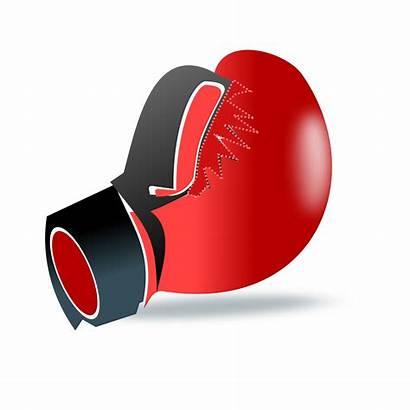 Boxing Clipart Gloves Glove Clip Transparent Vector