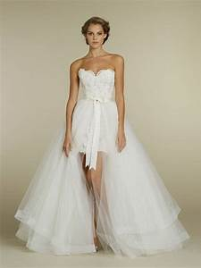 short wedding dresses with train With short wedding dresses with train