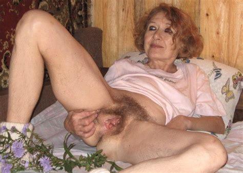 Hairy Aged Granny Pussy Hairy