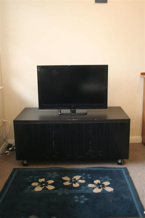 ikea tv stand with wheels black tv stand with mount on wheels ikea decofurnish