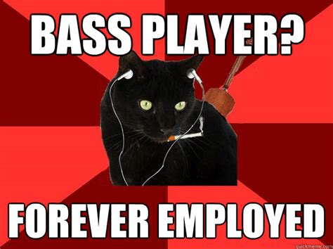Player Memes - bass players get no respect talkbass com