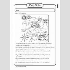 Social Studies Map Skills Worksheet  Grade 2  Pinterest  Math, Maps And Map Skills