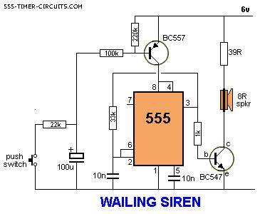 Siren Circuit Page Security Circuits Next