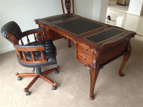 Antique Bankers Desk  Antique Furniture