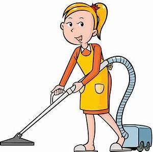 Cartoon Housekeeper Clipart (14+)