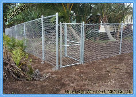 Galvanized Chain Link Fence Privacy Fabric / Mesh Fabric