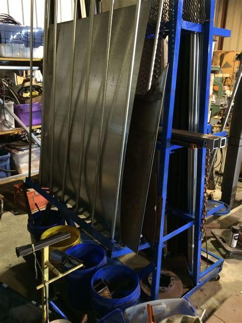 vertical metal storage rack showing sheet metal storage side metal storage racks shop