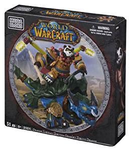 amazoncom mega bloks world  warcraft dragon turtle