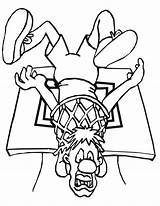 Coloring Basketball Printable Space Jam Dyscypliny Sportowe Kolorowanki Coloriage Cesta Basquete Enterrado Homem Spongebob Colorier Graduation Popular Druku Squarepants Adults sketch template