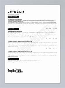 Administrator cv Template CV template administrator