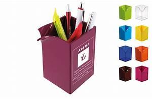 Pot A Crayon : pot crayons unicolore personnaliser avec logo ~ Teatrodelosmanantiales.com Idées de Décoration