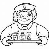 Coloring Medicine Doctor Surfnetkids Take sketch template