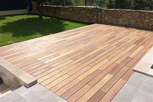Terrasse En Ipe : terrasse en bois exotique ipe nature bois concept ~ Premium-room.com Idées de Décoration