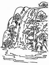 Wasserfall sketch template