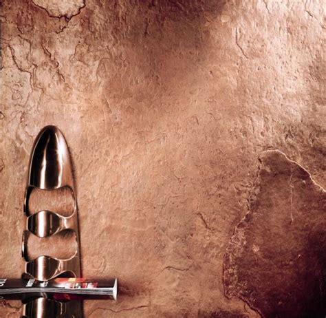 wandfarbe kupfer metallic stein tapete steinoptik schiefer kupfer metallic kaufen raum gestalltung 01