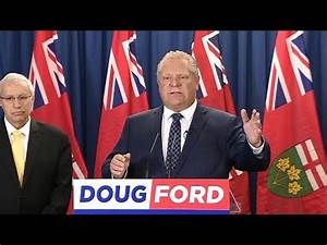 Doug Ford pledges tax cut for middle class - YouTube