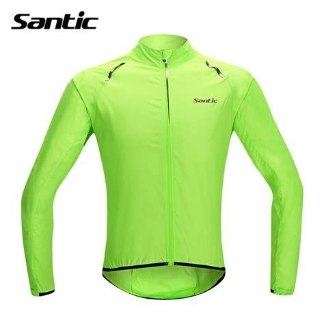 waterproof cycle wear santic waterproof cycling jersey rain jacket ropa ciclismo