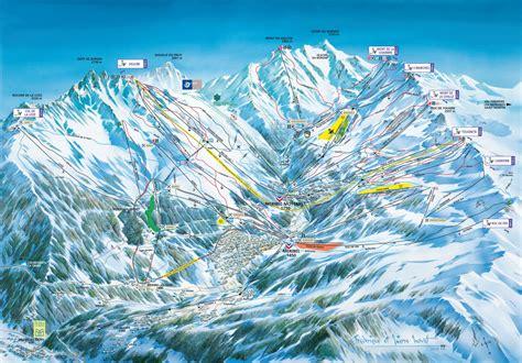 chambre de chalet plan des pistes de méribel guide des stations ski flv fr