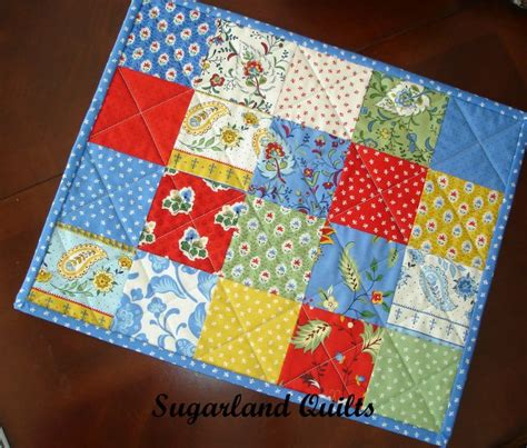quilted placemats patterns quilt patterns for placemats vintage quilts