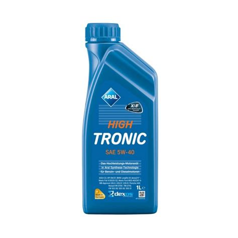 aral hightronic 5w 40 aral hightronic 5w 40 1lt