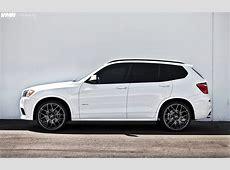 BMW X3 custom wheels VMR 22x, ET , tire size R22 x ET